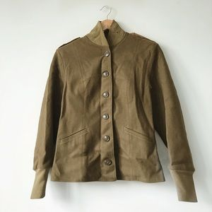 FINAL FLASH- Vintage Army Wool Jacket